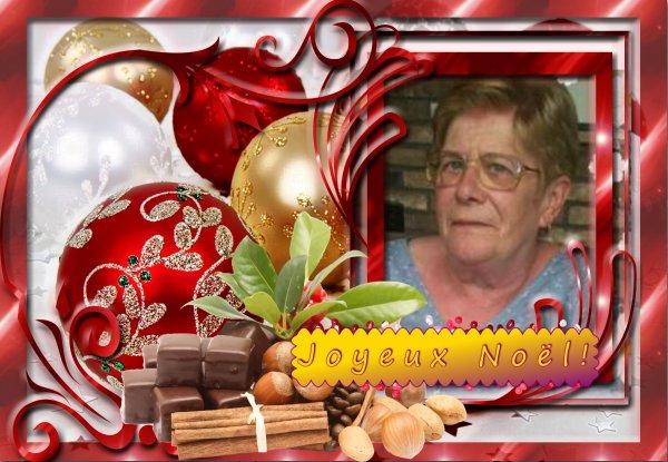 Rita, avec ce petit cadeau je te souhaite un Joyeux Noêl en famille*** Mille bisous du (l) Josie