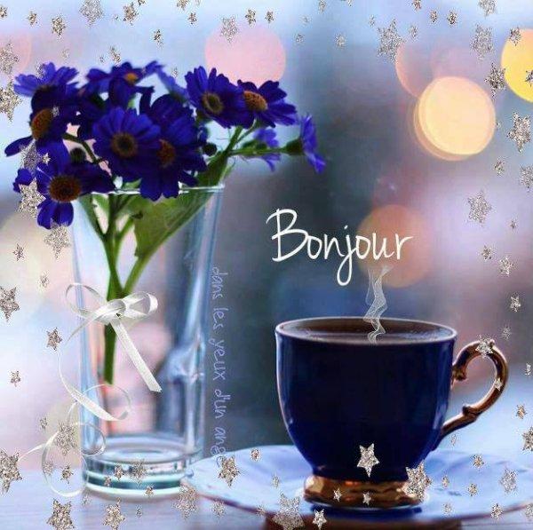 Bonjour à tous mes amis(es) je vous souhaite une bonne journée de jeudi, ici temps orageux... Gros bisous Josie