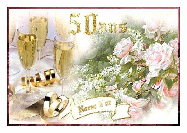 Joyeux Anniversaire à Jacottechris Pour Leurs 50 Ans De