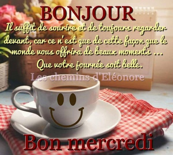 Bonjour Mes Amis Je Vous Souhaite Une Bonne Journée De