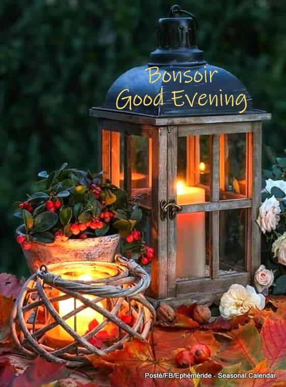 Bonne soirée à tous mes amis(es) douce et agréable nuit ... Gros bisous Josie