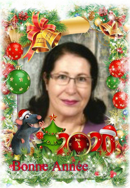 Bonne et heureuse Année 2020, tous mes voeux de bonheur et d'excellente santé pour vous deux et pour ceux qui vous sont chers °°° Mille bisous du (l) Josie