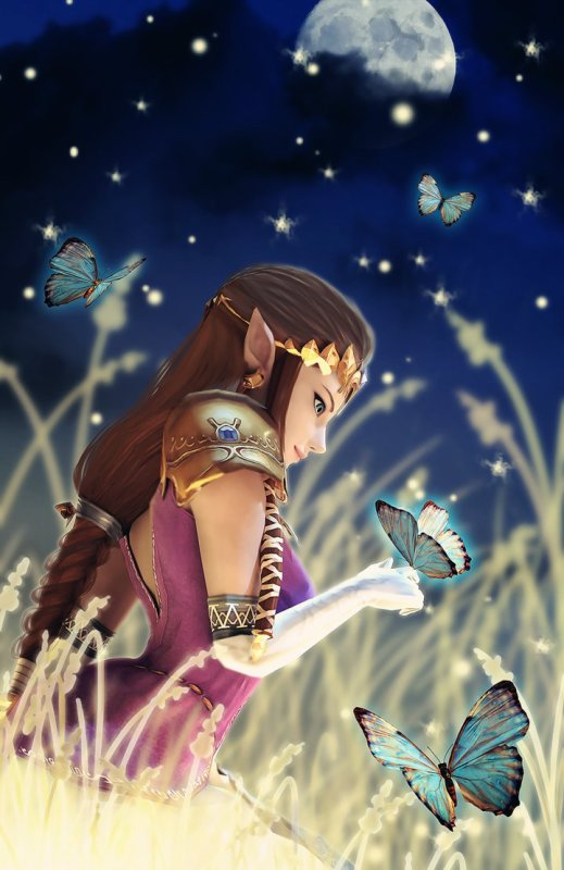 La Princesse Zelda de Twilight Princess