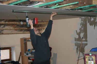 aout 09 travaux dans la maison chassis chambres l. Black Bedroom Furniture Sets. Home Design Ideas