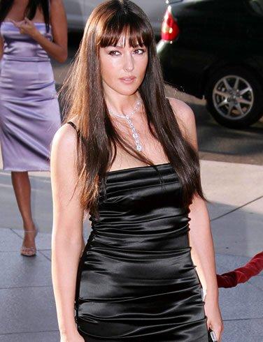 Monica Bellucci enceinte de son deuxième enfant