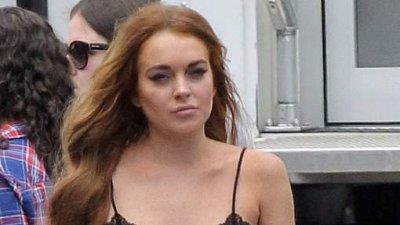 Lindsay Lohan dégoûtée par la bouche de Charlie Sheen