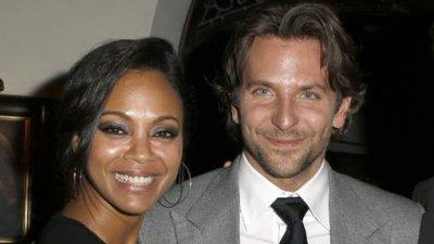 C'est de nouveau fini entre Bradley Cooper et Zoe Saldana