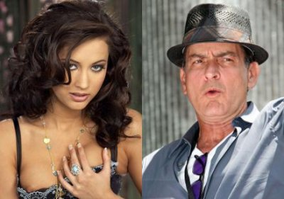 Charlie Sheen sort avec une actrice porno
