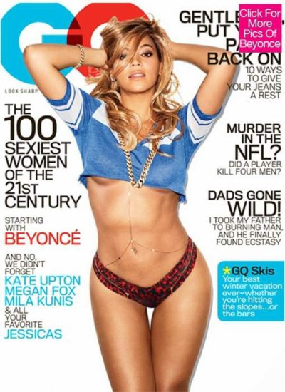 Beyonce ultra-sexy en couverture de GQ