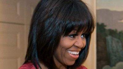 Nouvelle coupe de cheveux pour Michelle Obama