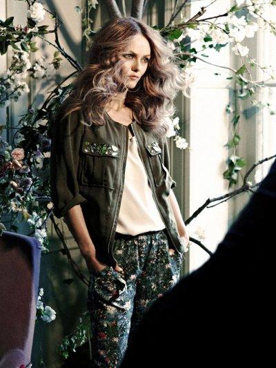 Vanessa Paradis, nouvelle égérie d'H&M