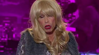 Steven Tyler passe une audition en drag queen