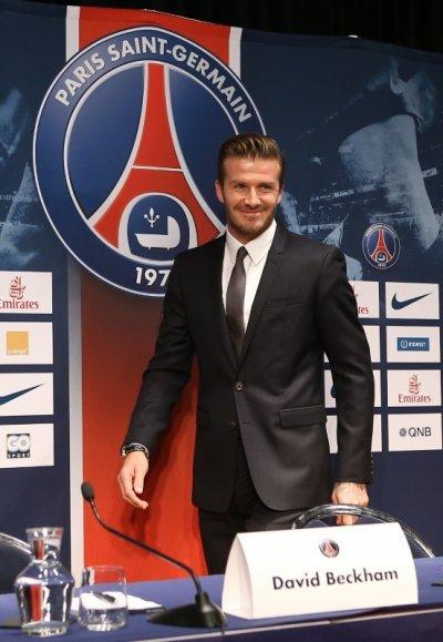 Football - Portrait de David Beckham, la star du PSG