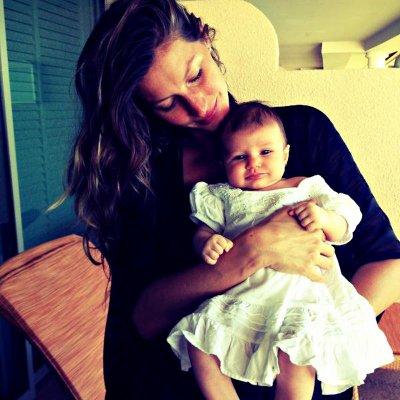Gisele Bündchen dévoile la première photo de sa fille