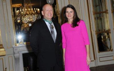 Bruce Willis fait Commandeur de l'ordre des Arts et des Lettres