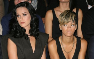 Katy Perry fâchée avec Rihanna à cause de Chris Brown