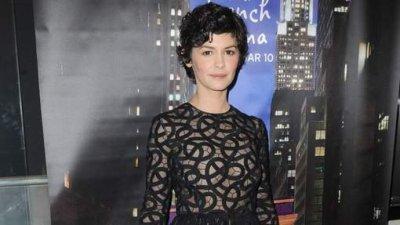 La robe transparente d'Audrey Tautou