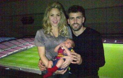 Shakira et Gérard Piqué dévoilent une nouvelle photo de leur petit garçon
