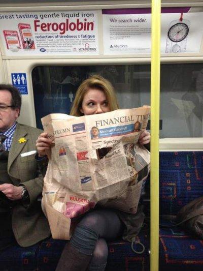 Geri Halliwell peut enfin reprendre le métro