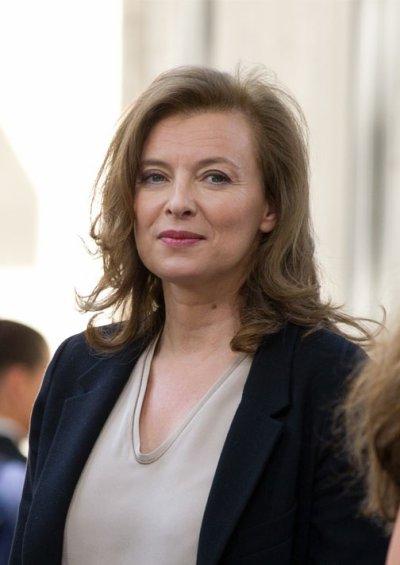 Valérie Trierweiler, invitée du Grand Journal de Canal+