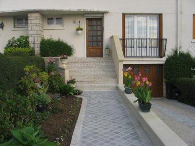 construction escalier, pavés, murets etc.....