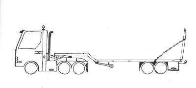 Dessin de pelleteuse camion les travaux publique c 39 est - Dessin de camion americain ...
