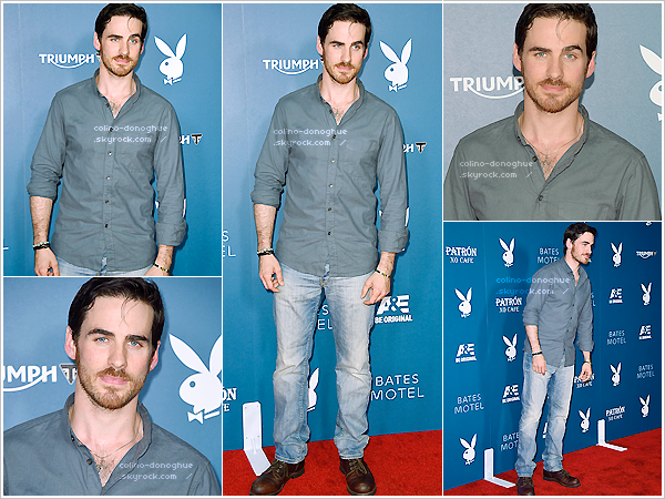 *EVENT  — 25/07/14 - Notre Pirate Colin O'Donoghue Playboy And Bates Motel Comic Con Party à San Diego.
