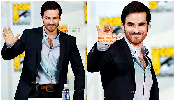 *EVENT  — 26/07/14 - Colin O'Donoghue au Comic Con 2014 pour le panel de TV Guide Magazine Fan Favorite.