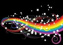 I had a rainbow ...