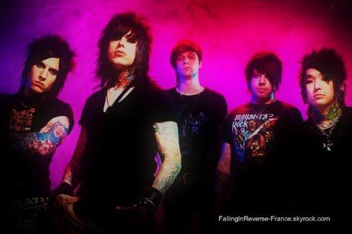 Falling In Reverse: la présentation, l'histoire du groupe.