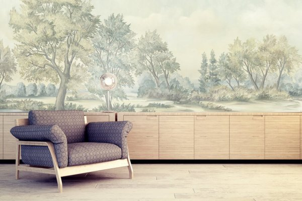Imaginative Artisan Hand Painted Wallpapers