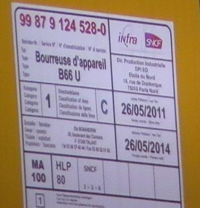 bourreuse d'appareil B66 U - 99 87 9 124 528-0 - Bonandrini
