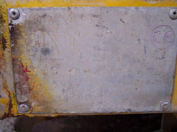 Petit matériel caténaire LAPLAT - 9612345.01 - Colas Rail