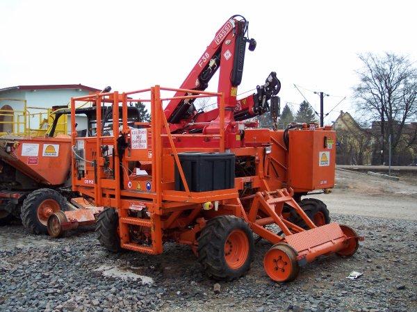 Petit matériel caténaire Lagrue - 06001 - Colas Rail