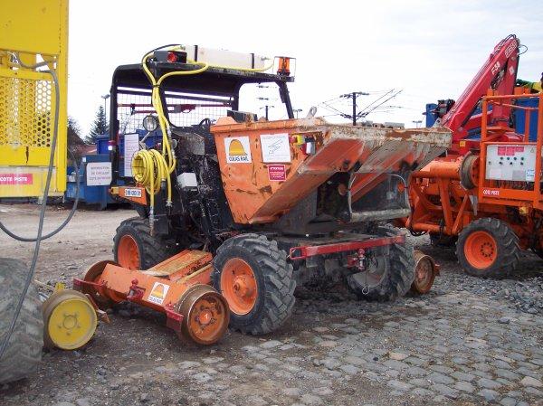 Petit matériel caténaire Ausa 300 RHG - 55542186 - Colas Rail
