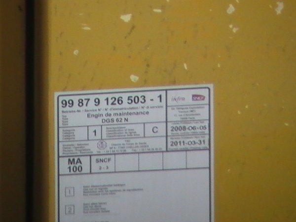 Stabilisateur DGS 62N - 99 87 9 126 503-1 - TSO