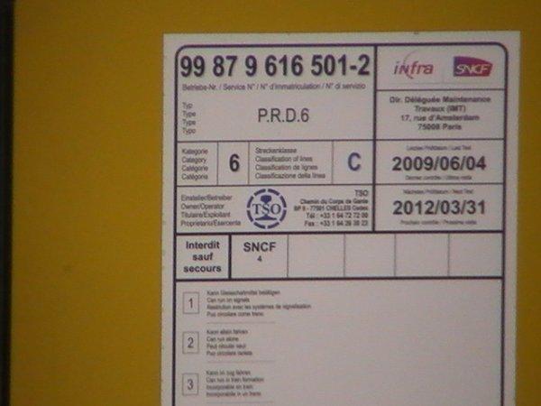 Traveuleuse - PRD 6 - 99 87 9 616 501-2 - TSO