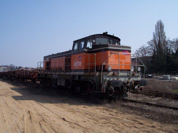 Locomotive BB 64615 Infra ex 63587