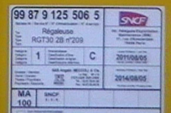 Régaleuse RGT 30 2 B - 99 87 9 125 506-5 - Meccoli
