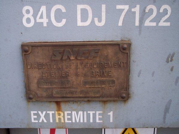 DU 84 C - 99 87 9 285 222-5 - ex 7.122 - DJ