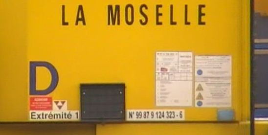 """Bourreuse d'appareil ZCA 2000 LGV - 99 87 9 124 323-6 - MN SNCF """"La Moselle"""""""