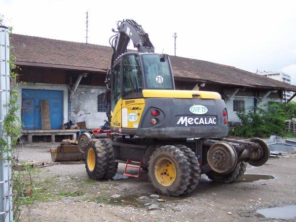 Pelle RR Mecalac 714 RR - P70084002 - GVF