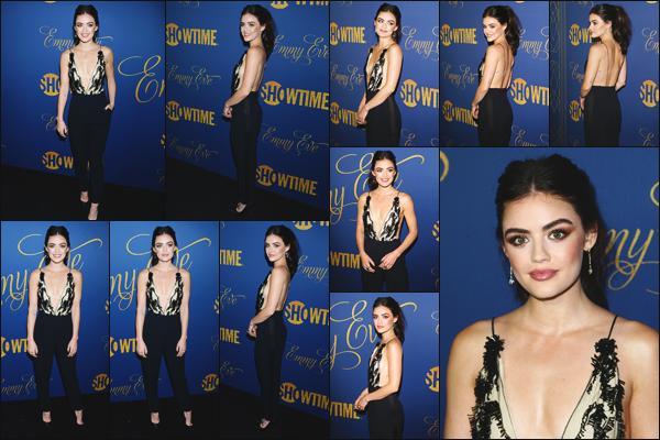 ''• '16/09/18:'' Lucille était présente lors de la fête organisée pour les « Emmy Eve Nominees » à Los Angeles. C'est une fête qui a lieu pour les personnes qui sont nominées lors de l'événement ! Je lui accorde un immense top pour sa tenue et toi ?!