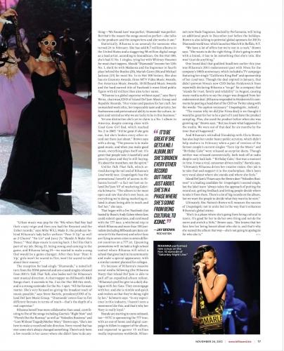 "Intérieur du magazine "" Billboard """