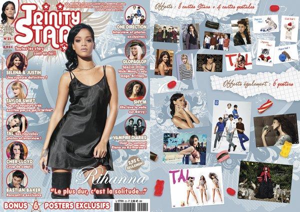 """Rihanna fait la couverture de """" Elle """" France et """" Trinity Star """""""