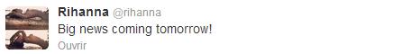 [Nouvelle annoncé] Une grande nouvelle pour demain [Nouvelle annoncé]