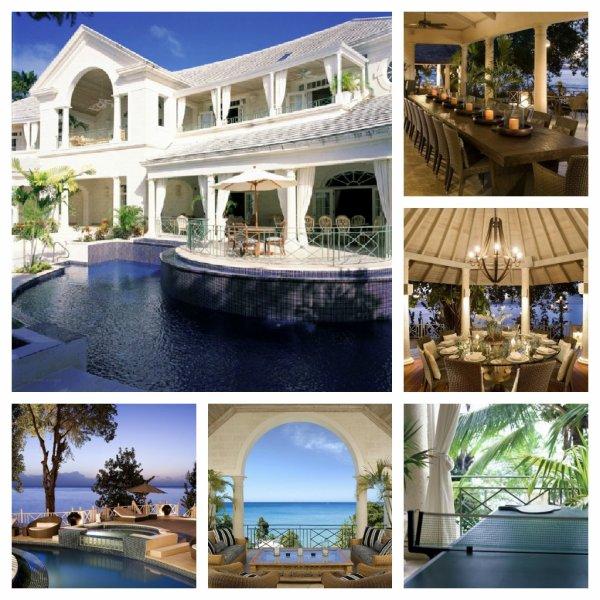 Photos de la villa louée par Rihanna à la Barbade