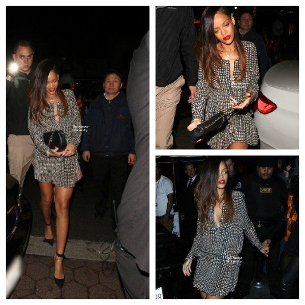 "Rihanna quitte le club "" My Studio "" de Los Angeles"