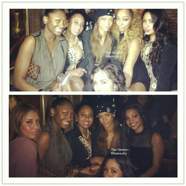 Rihanna a été aperçue au club « Premier » à Los Angeles