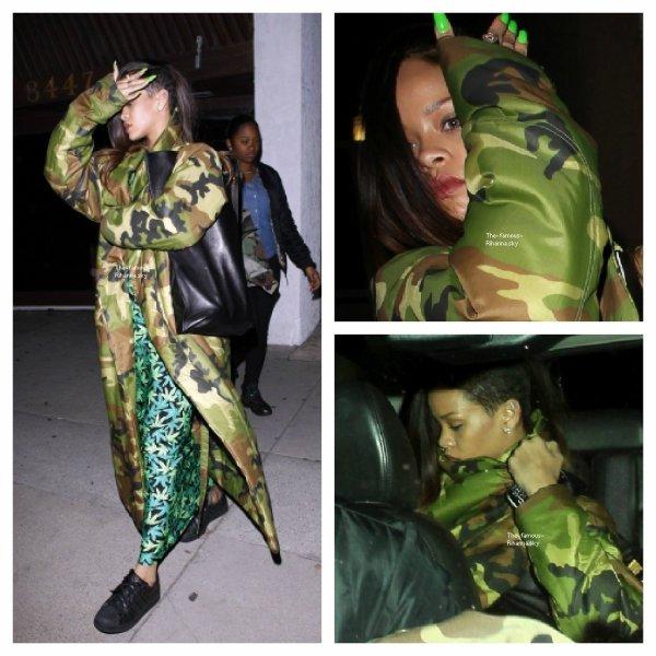 Rihanna était en studio d'enregistrement avec Chris Brown